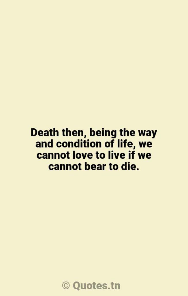 Death then